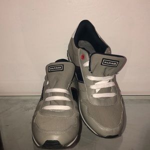 Grey Tommy Hilfiger shoes